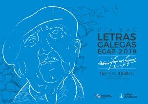 A EGAP anuncia os actos previstos en conmemoración do Día das Letras Galegas